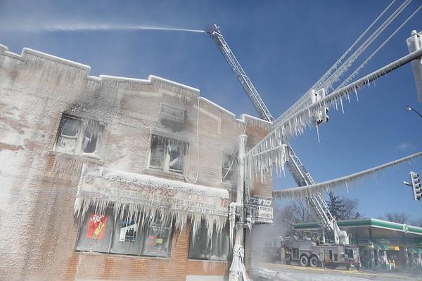 Waukegan Box Alarm Fire Grand & Jackson