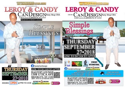 """CAN DESIGN / LEROY """"SIMPLE BLESSINGS""""(15)"""