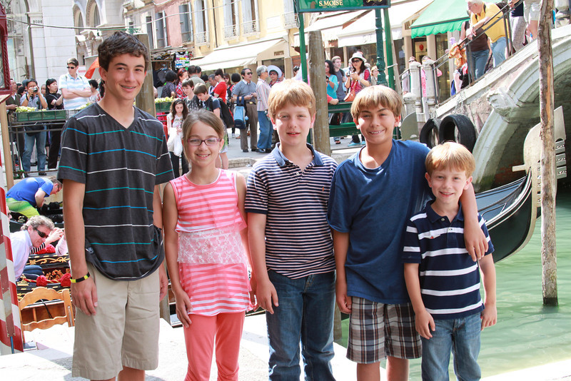 The cousins arrive in Venice!