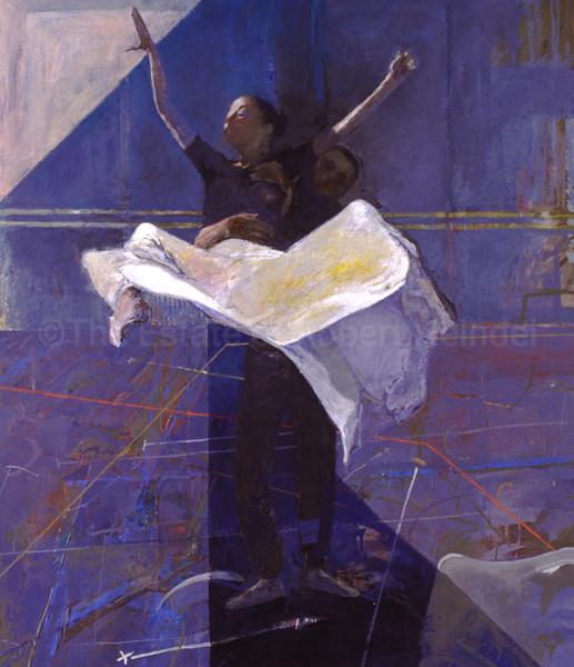 White Skirt in Blue (1996)