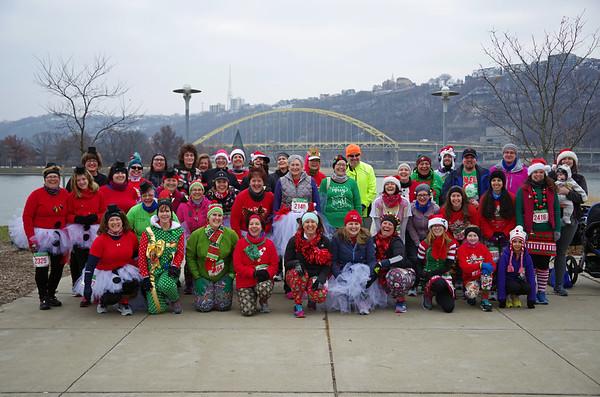 Arthritis Foundation Jingle Bell Run, Pittsburgh, December 8, 2018