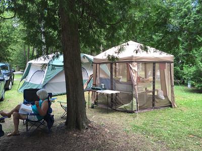 Vacation 2016_Harrisville State Park in Michigan