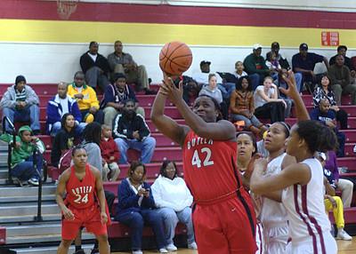 2009/12/03 BHS Girls Basketball - Butler @ Harding