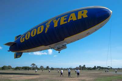 RIDING IN THE GOODYEAR BLIMP (10-5-16 - pictures are captioned)