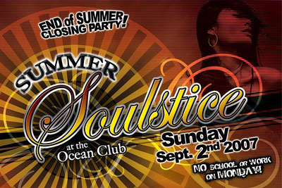 """Summer Soulstice"" @ The Ocean Club-Honolulu 9.2.07"