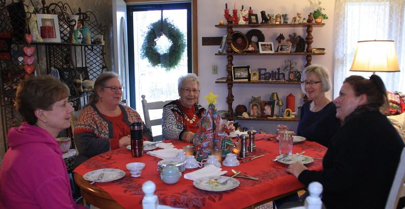 Christmas Teas - Aunts & Cousins