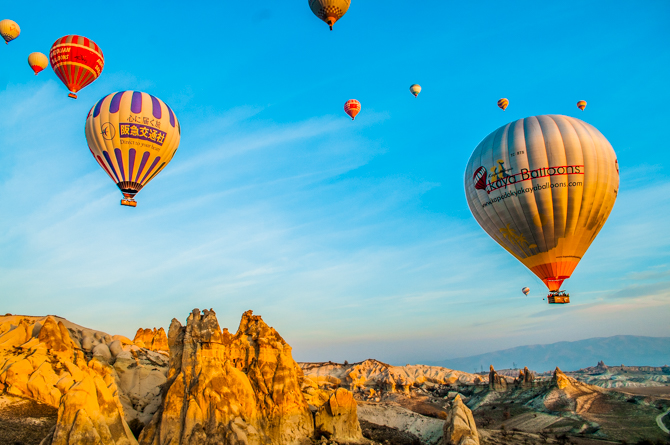travel advent calendar cappadocia