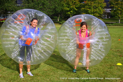 2015 United Way Campus Bubble Soccer