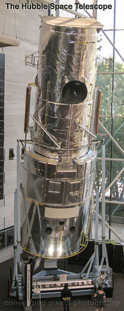 The Hubble Telescope;  Smithsonian Museum, Wash. DC.