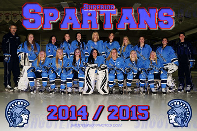 SHS Girls Hockey 2014/2015