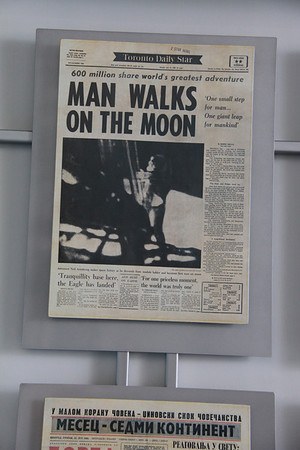 Moon Landing News Papers