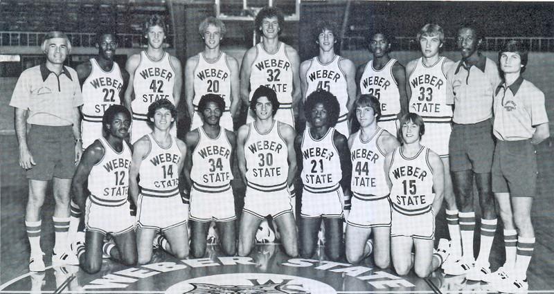 Men's Basketball Team '79 - '80