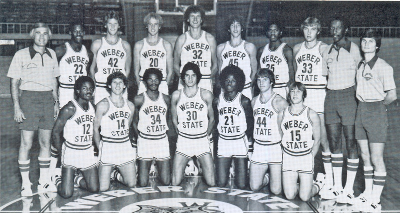 Men's Basketball Team '79 - '80