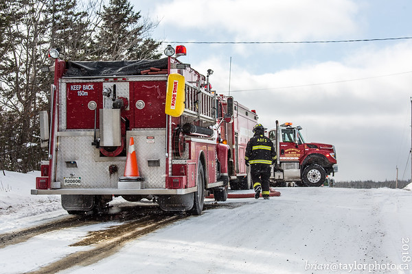 Structure Fire Viewpoint, Kings County, Dec. 8, 2018