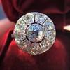 1.98ctw Art Deco Diamond Dome Ring 18