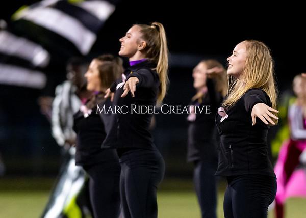 Broughton varsity football vs Cardinal Gibbons. Band and Dance Team Senior Night. October 25, 2019. D4S_1900