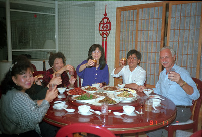 """'Yom Chin"""" greetings over dinner!"""