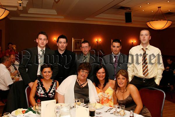 Aodhan Bennett, Mark Craven, Damien O'Reilly, Tommy O'Reilly, Paul Mc Cormack, Lisa Cromie, Marie O'Reilly, Helen O'Reilly and Ciara Mc Cormack, 07W35N53