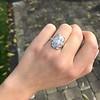1.82ctw Diamond Cluster Ring 23