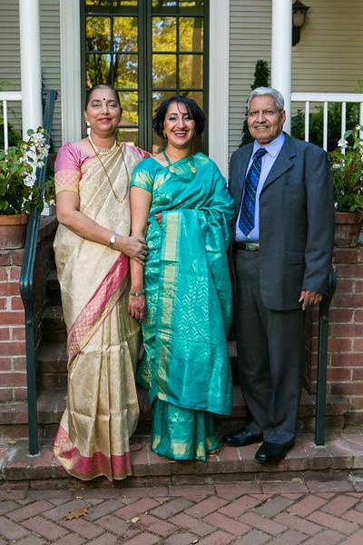 Nandita & Chetan - Family Portraits