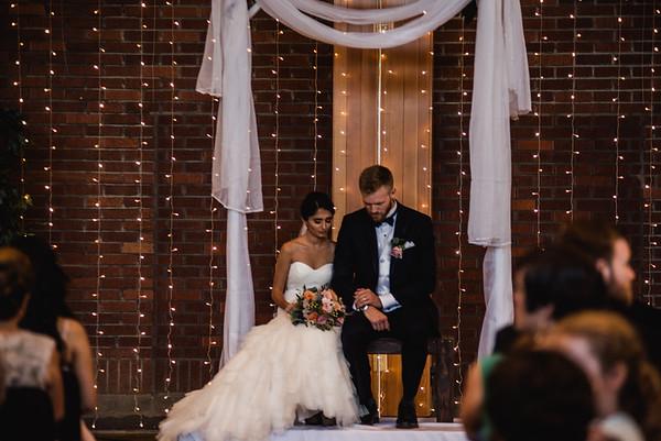 Mahshad  and Aaron Wedding