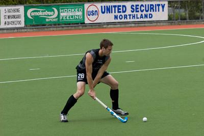 2009_10_25 Mike Delaney Benefit Match Black Sticks Men vs Northern Invitation