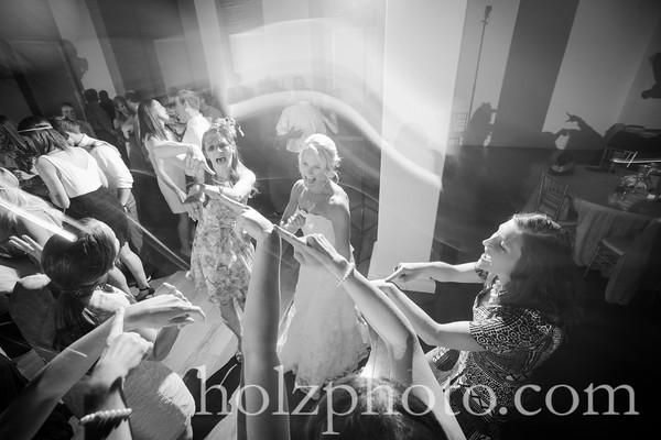 Amy & Rich B/W Wedding Photos