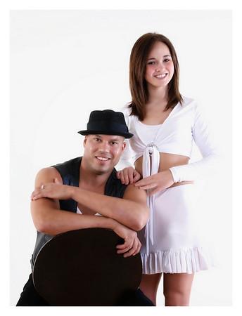 Tiffany Didone and Eddie Rivera Profile Shots
