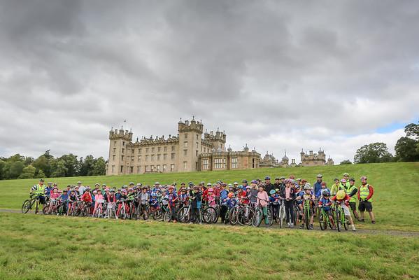 Tour of Britain Family Bike Ride - Floors Castle - 15-09-05