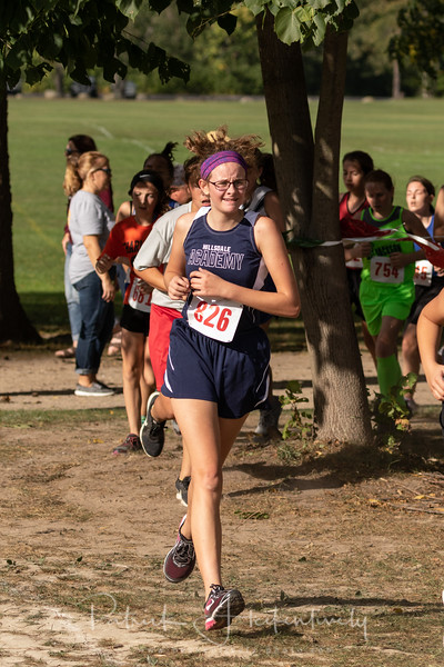 2018-09-21 Hillsdale Academy Cross Country at Jackson