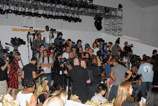 Nicole Miller Olympus Fashion Week Spring 2007 Fashion Show