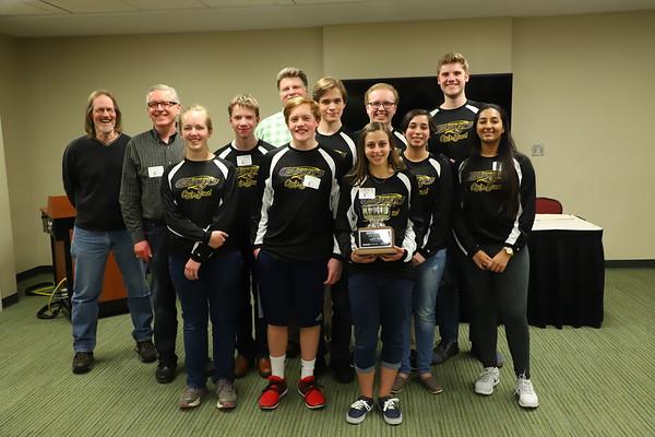 Quiz Bowl State Championship - KCHS - 4/21/18