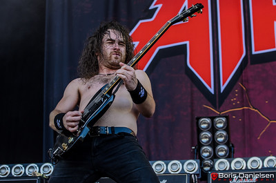 Airbourne @ Tons Of Rock Festival 2017.