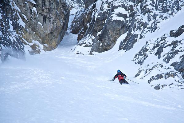 Narao Peak NE Couloir