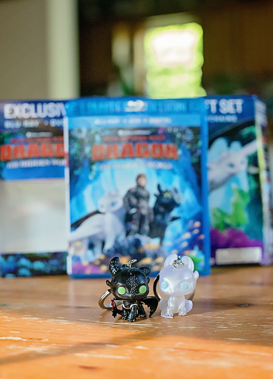Our family movie night with the How to Train Your Dragon 3 Walmart Exclusive DVD Gift Set from Walmart, and recipe/craft! #TrainYourDragonAtWalmart #Pmedia #ad