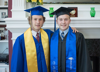 Grant and Matthew Graduation