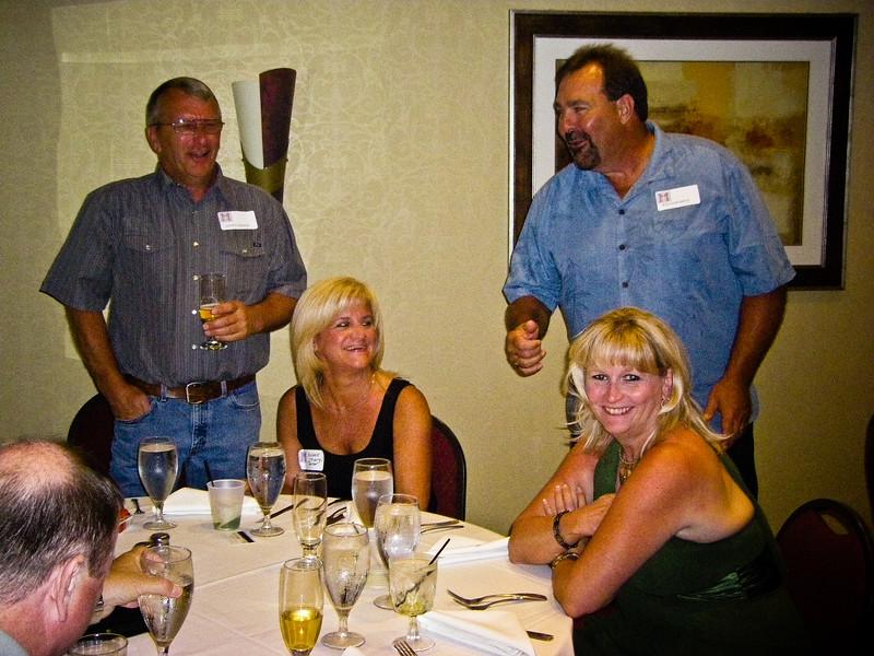 Daniel Ridings, Michele Murphy Mele (74), Bill Smith (74), Denise Strayer Smith (74)