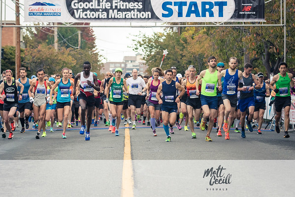 Goodlife Fitness Victoria Marathon - 2016