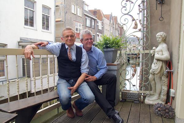 Thuis bij… Dick Leendertse & Rob Viergever