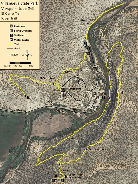 Villanueva State Park (Trail Map)
