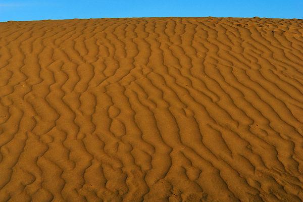 Sunset on Mesquite Sand Dunes