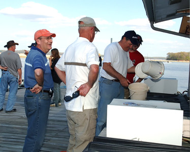 """Casting For """"Q"""" And A Cure - First Christian Fishing Tournament  For The Relay For Life,  April 20, 2008."""