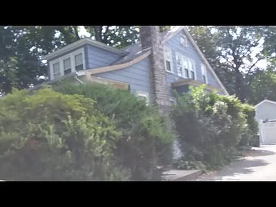 846 Herschel road Phila. PA: Exterior sanding paint removal & painting of most of this house I did!