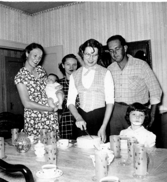 Maria Jacob Smock's 23rd Birthday Nov 1951
