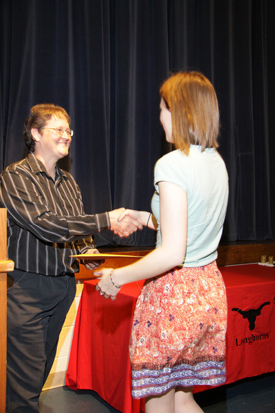 Awards Night 2012 - Student of the Year: AP Calculus