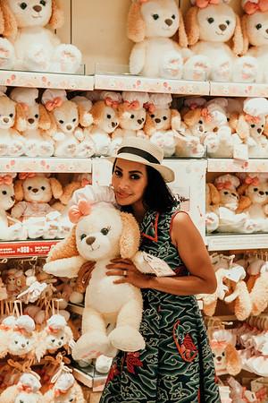Disneyland with Anna