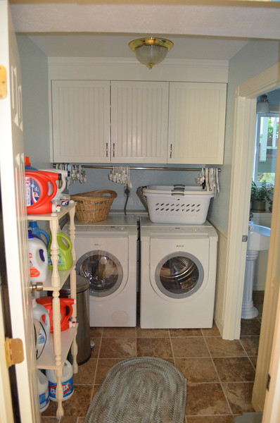 Laundry room (downstairs).