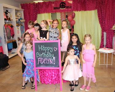 2018 Adelyn's 7th Birthday at Bold Girlz