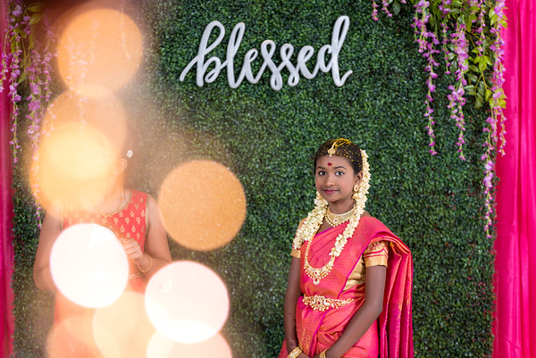 Half Saree Ceremony  |  Nihila
