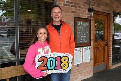 4-2-2018 Teresa Sato & Rick Wilkerson @ 7 Mile Cafe, Flower Mound